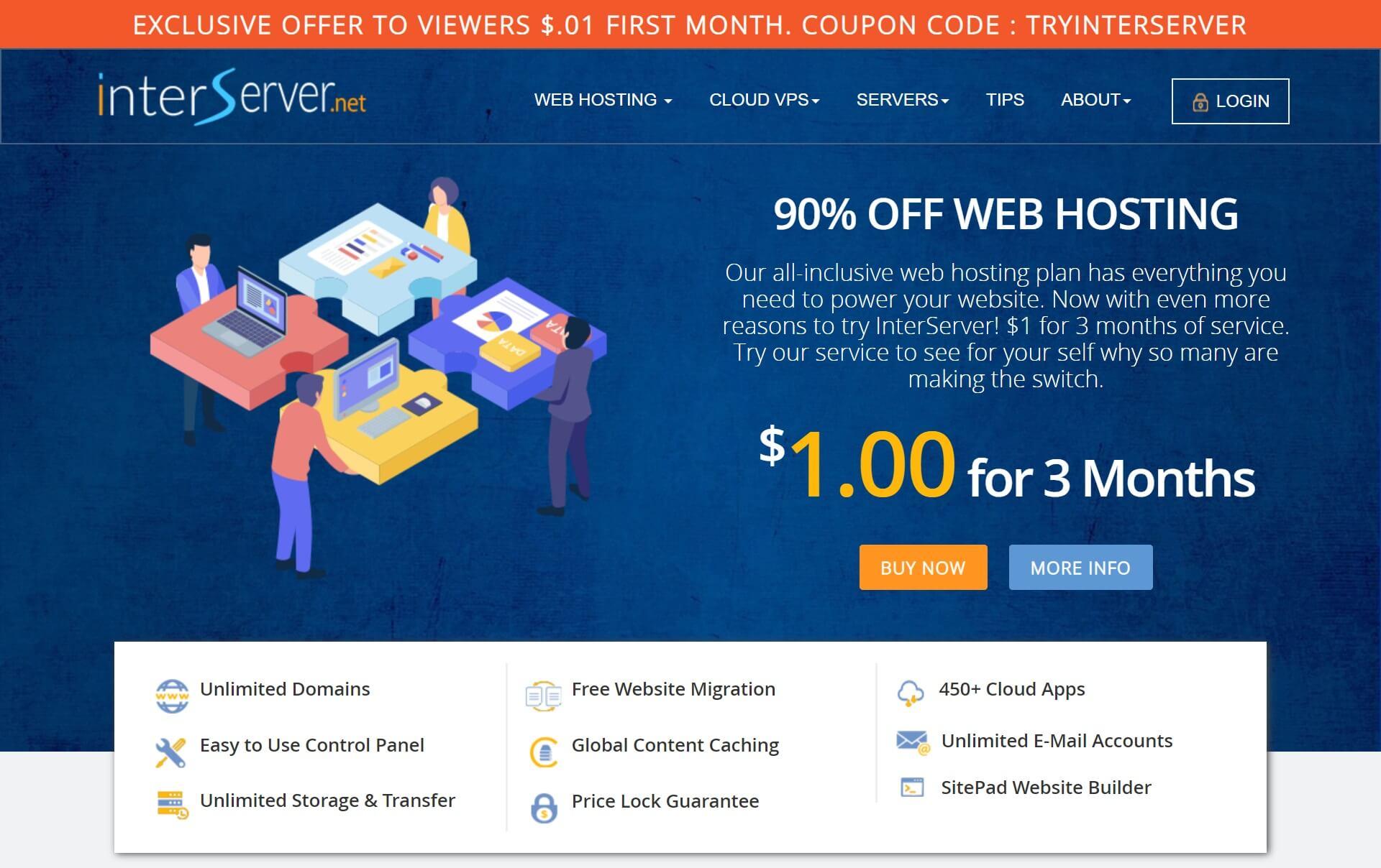 interserver shared hosting