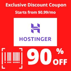 Hostinger Exclusive Discount Coupon